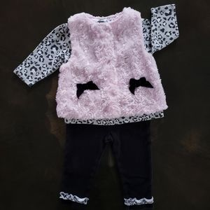 Girls Baby Gear outfit, size 6-9 months